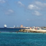 Downtown Willemstad from afar